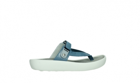 wolky slippers 00821 peace 87860 steel blue pearl leather_24