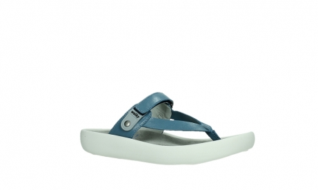 wolky slippers 00821 peace 87860 steel blue pearl leather_3