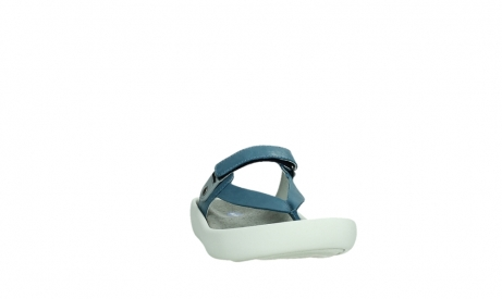 wolky slippers 00821 peace 87860 steel blue pearl leather_6