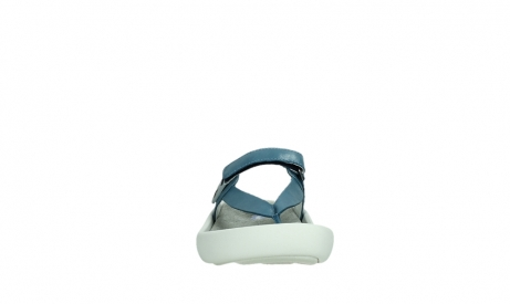 wolky slippers 00821 peace 87860 steel blue pearl leather_7