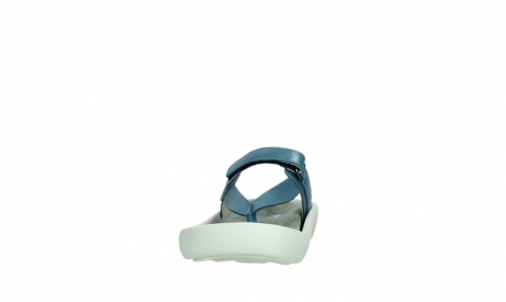 wolky slippers 00821 peace 87860 steel blue pearl leather_8
