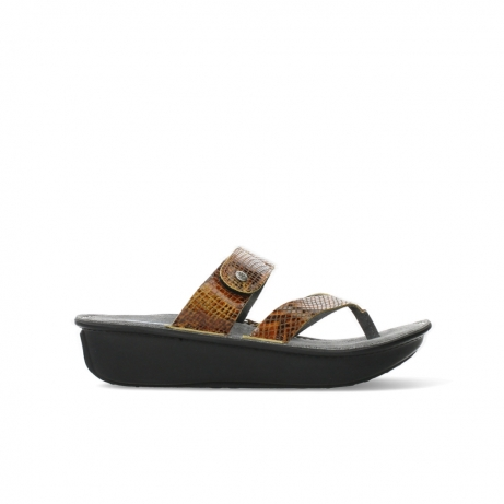 wolky slippers 00877 martinique 98920 ocher leather