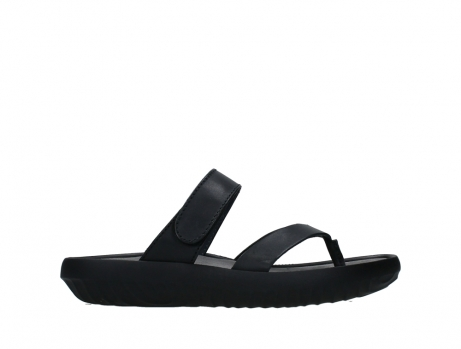 wolky slippers 00880 tahiti 31002 black leather_1