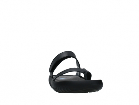 wolky slippers 00880 tahiti 31002 black leather_6