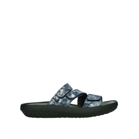 wolky slippers 00885 sense 48800 blue suede