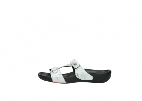 wolky slippers 01000 oconnor 70110 white black canal leather_1