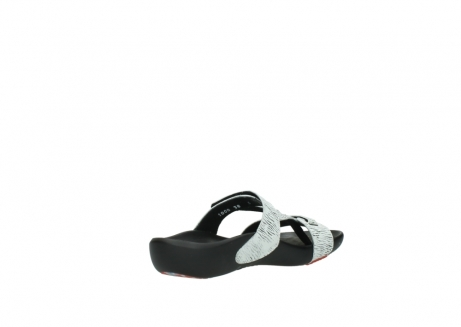wolky slippers 01000 oconnor 70110 white black canal leather_10