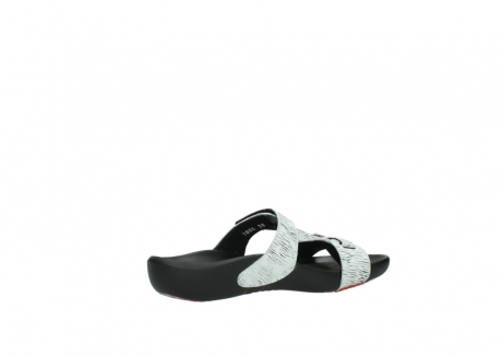 wolky slippers 01000 oconnor 70110 white black canal leather_11