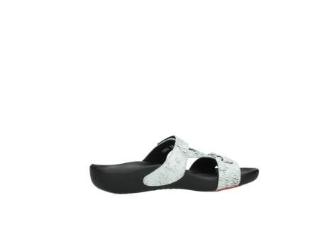 wolky slippers 01000 oconnor 70110 white black canal leather_12