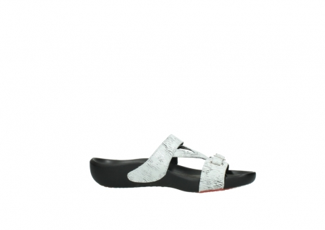 wolky slippers 01000 oconnor 70110 white black canal leather_14