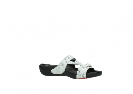 wolky slippers 01000 oconnor 70110 white black canal leather_15