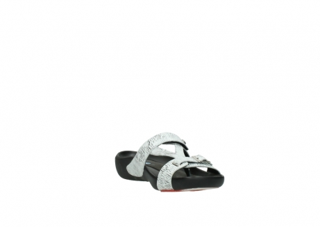 wolky slippers 01000 oconnor 70110 white black canal leather_17