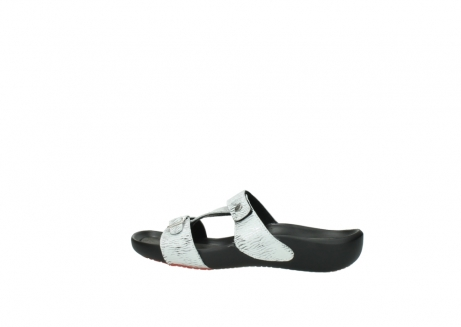 wolky slippers 01000 oconnor 70110 white black canal leather_2