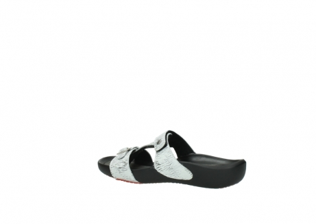wolky slippers 01000 oconnor 70110 white black canal leather_3