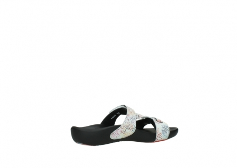 wolky slippers 01000 oconnor 70980 white multi color canal leather_11