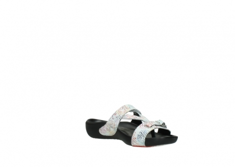 wolky slippers 01000 oconnor 70980 white multi color canal leather_16
