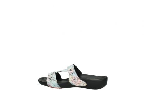 wolky slippers 01000 oconnor 70980 white multi color canal leather_2