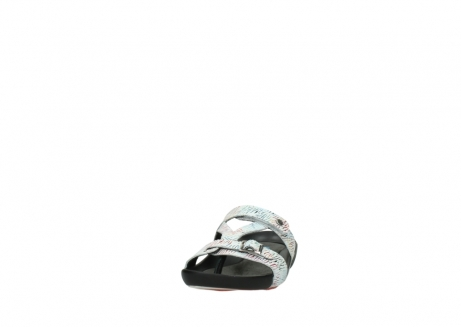 wolky slippers 01000 oconnor 70980 white multi color canal leather_20