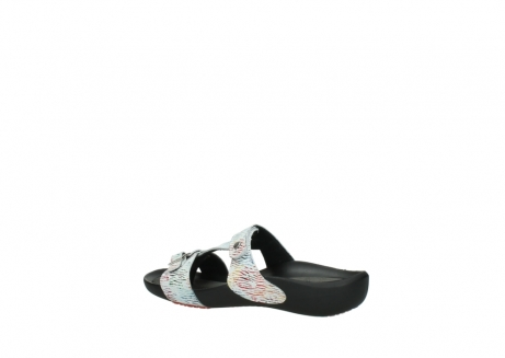 wolky slippers 01000 oconnor 70980 white multi color canal leather_3