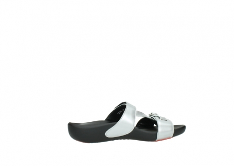 wolky slippers 01000 oconnor 80200 grey patent metallic leather_12