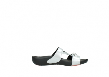 wolky slippers 01000 oconnor 80200 grey patent metallic leather_13