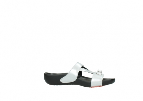 wolky slippers 01000 oconnor 80200 grey patent metallic leather_14