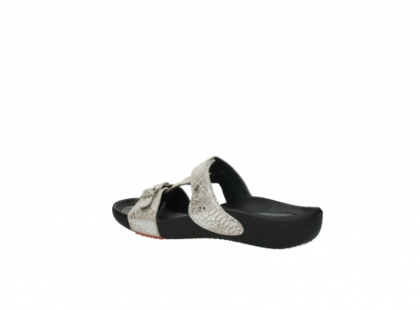 wolky slippers 01010 kukana 60620 bisque gold snakeprint leather_3