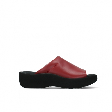 wolky slippers 03201 nassau 30500 red leather