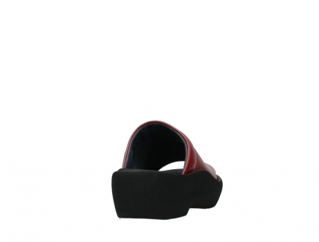 wolky slippers 03201 nassau 30500 red leather_20