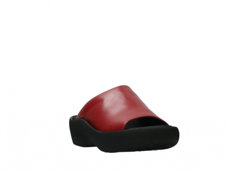 wolky slippers 03201 nassau 30500 red leather_5