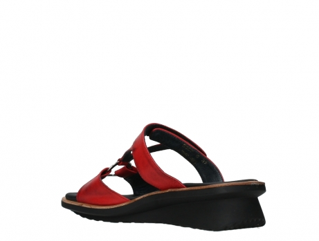 wolky slippers 03307 isa 21500 red leather_16