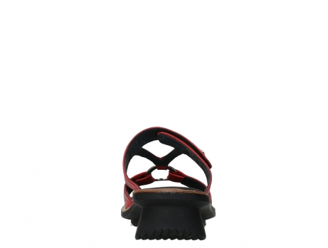 wolky slippers 03307 isa 21500 red leather_19