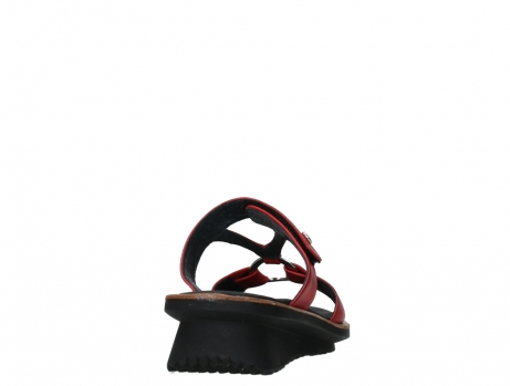 wolky slippers 03307 isa 21500 red leather_20
