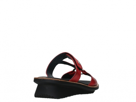 wolky slippers 03307 isa 21500 red leather_21