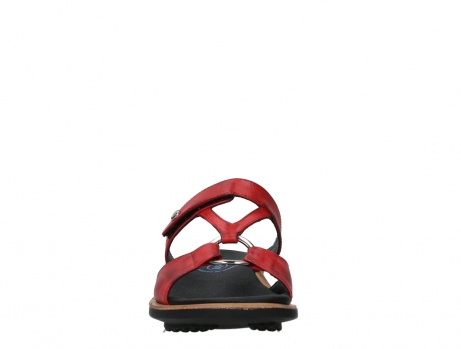 wolky slippers 03307 isa 21500 red leather_7