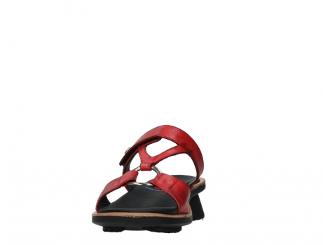 wolky slippers 03307 isa 21500 red leather_8