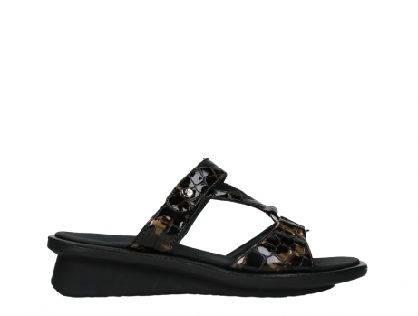 wolky slippers 03307 isa 69320 bronze croco patent leather_1