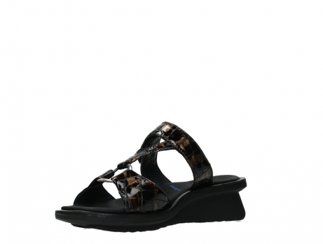 wolky slippers 03307 isa 69320 bronze croco patent leather_10