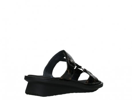 wolky slippers 03307 isa 69320 bronze croco patent leather_22