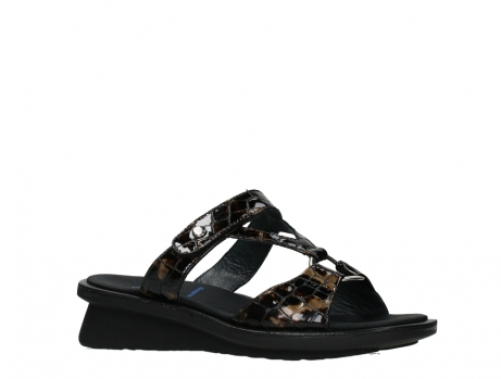 wolky slippers 03307 isa 69320 bronze croco patent leather_3