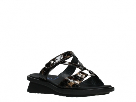 wolky slippers 03307 isa 69320 bronze croco patent leather_4