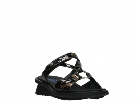 wolky slippers 03307 isa 69320 bronze croco patent leather_5