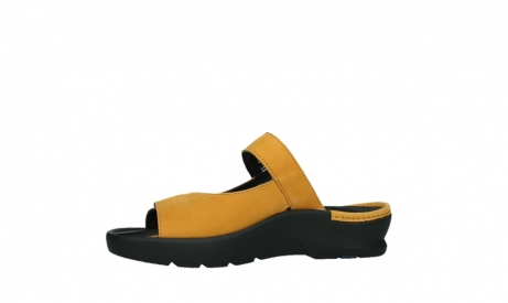 wolky slippers 03926 zaandam 11550 orange yellow nubuck_12