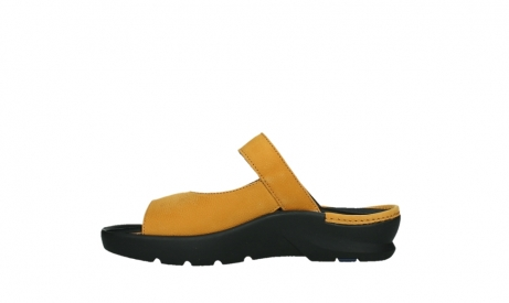 wolky slippers 03926 zaandam 11550 orange yellow nubuck_13