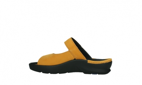 wolky slippers 03926 zaandam 11550 orange yellow nubuck_14