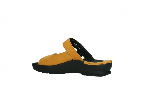 wolky slippers 03926 zaandam 11550 orange yellow nubuck_15