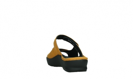 wolky slippers 03926 zaandam 11550 orange yellow nubuck_18