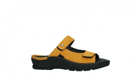 wolky slippers 03926 zaandam 11550 orange yellow nubuck_2