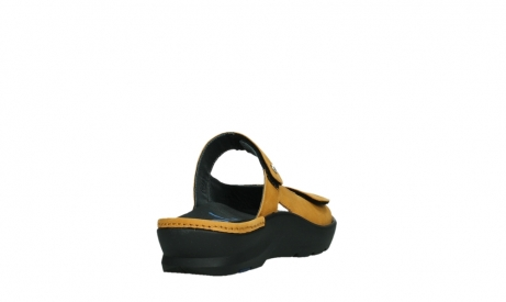wolky slippers 03926 zaandam 11550 orange yellow nubuck_21