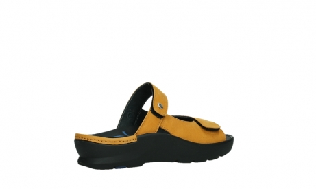 wolky slippers 03926 zaandam 11550 orange yellow nubuck_23